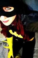 Batgirl's eye by LeriCat