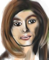 Woman face study n34 by lv888