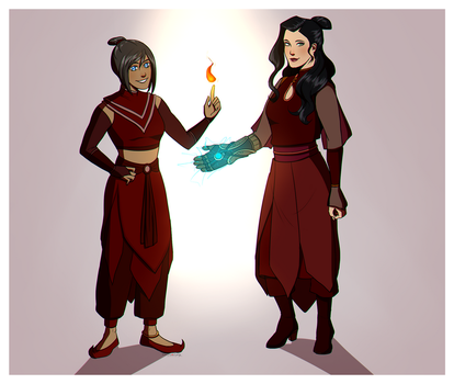 Fire Nation LoK by Marina-Shads