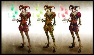 bloody circus character exploration by dleoblack