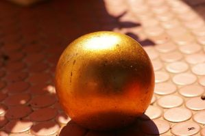 Golden Ball II by expression-stock