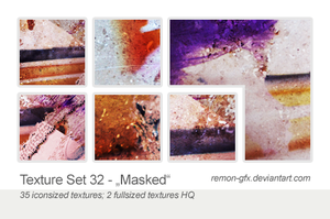 Texture Set 32 // Masked by remon-gfx