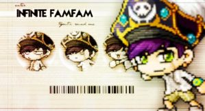 INFINITE FAMFAM- by Tianein