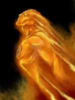 Human Torch by lamp0s