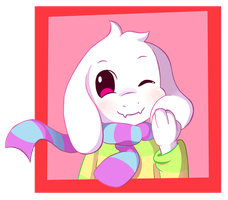 Asriel by FairyJonke