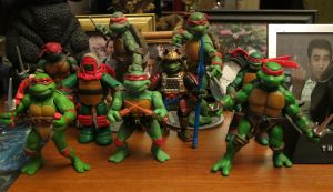 Kaijukid's Toychest: The Raphael Collection by kaijukid