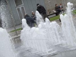 Manchester Water Fountains by Shh-Its-All-A-Lie
