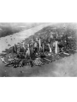 Aerial View of Manhattan 1942 by KindlePics