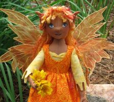 Seraphina - a Summer Fairy by fairiesnest