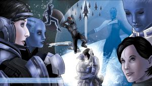 Goodbye: Shepard and Liara by JamieCOTC