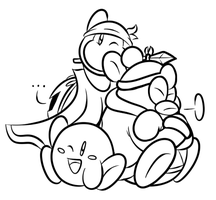Da' Kirby Crew (SAI Outline) by JamesmanTheRegenold