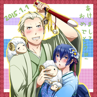 P4: Kannao - Happy New Year 2015 - by HanuWabbit