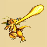 Dragonite used Hyper Beam by Haychel