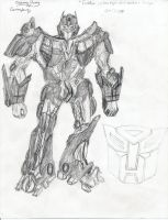 Optimus Prime sketch by ImtheArbiter