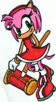 amy rose by TheRealPennyLane