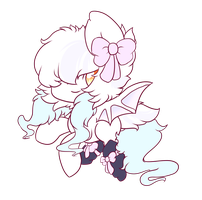 Shoo - Bat Pony Adopt Auction *Open* by Adopt--Squad
