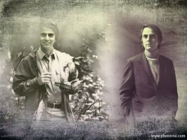 Wallpaper of my legend x3 - Carl Sagan by Abstract-scientist