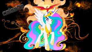 princess celestia by JoshiePup