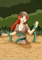 Rebecca Longale - Tentacle Quicksand #3 by A-020