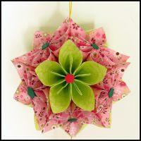 Kusudama - Morning Dew by BlueTF