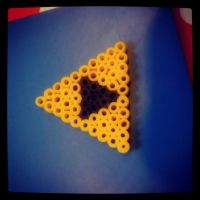 Triforce Pearler Beads by lAmikol