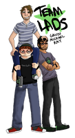 Team Lads .:Achievement Hunter:. by Gathsemene