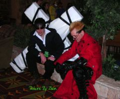 Vash and Wolfwood 2 by Zhon