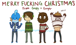 Happy Holidays mofos by crispilee