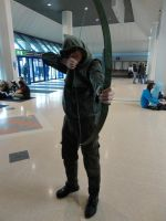 Arrow Costume Birmingham MCM EXPO 2013 by MadMatt1995