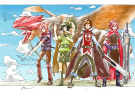the lost ages: dragon war by koemuchi