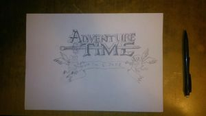 Adventure Time Logo by CoonCatLion