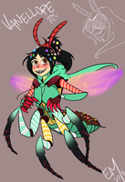 Vanellope Von Fly? by PrehistoricPlague