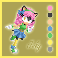 July the hedgehog by AngieR3741