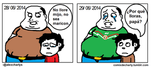 Comix #11 - No era Penal by AlexCharly