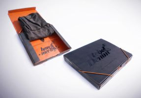 Rebel Denim Packaging by BayuWiranagara
