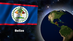 Flag Wallpaper - Belize by darellnonis