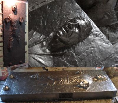 han solo in carbonite by traumator