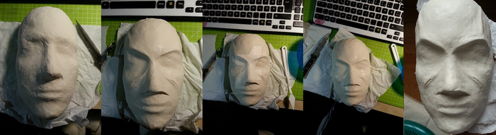 Creating a mask for cosplay part I by shrye