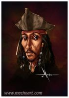 Jack Sparrow by Mecho