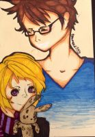 John and human Casey by TravelersDaughter