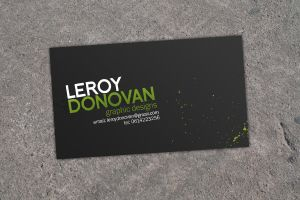 Business Card by leroydonovan