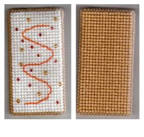 Cross-stitch pop tart by Alondra-chui