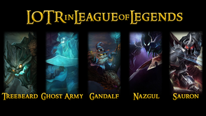 Lord of the Rings in League of Legends by zerons