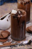 Perfect Drink For A Hot Day, Vanilla Iced Coffee by theresahelmer
