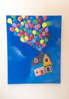 Adventure is out there! Up Acrylic Painting by PeterPansShadow13