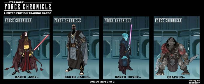 Force Chronicle : SITH part 2 by BongzBerry
