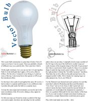 Vector Light Bulb Tutorial by vectorgeek