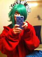 Gumi cosplay WIP by Rockinface