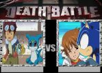 Veemon And Davis Vs Sonic And Chris on DeathBattle by Joetoonmania