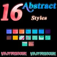 Abstract Styles by WeLoveUnbroken